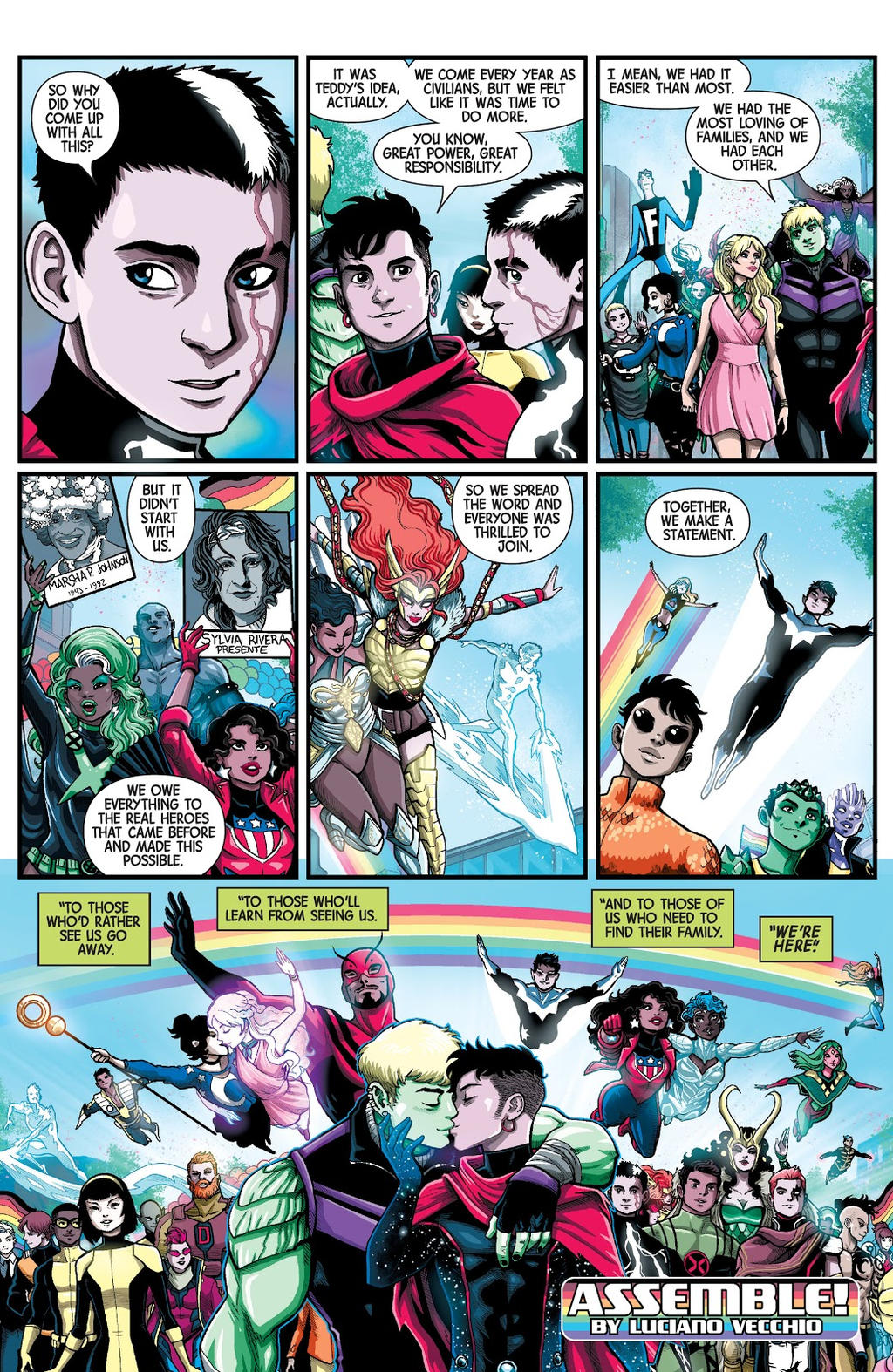 Marvel s Voices