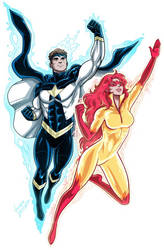 Firestar and Justice Commission