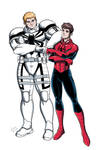 AntiVenom and SpiderMan