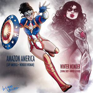 Amalgam Amazon America and Winter Wonder