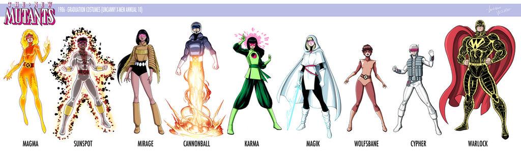 Graduation New Mutants lineup