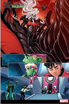 King In Black: Wiccan and Hulkling preview1