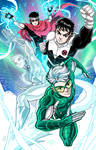Wiccan and Speed meet Iceman and Northstar