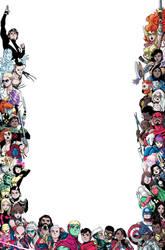 Marvel Voices Pride Variant Frame Cover