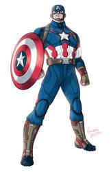 Age of Ultron MCU Captain America