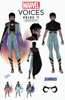 Marvel Voices Pride Somnus design variant