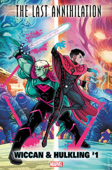 The Last Annihilation Wiccan and Hulkling