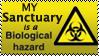 Bio-hazard stamp by Big-Argonian