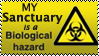 Bio-hazard stamp by Big-Argonian