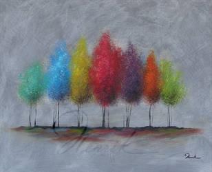 Spring trees by shimoda7