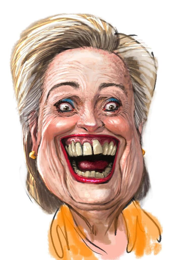 Hillary Clinton by Spauldron
