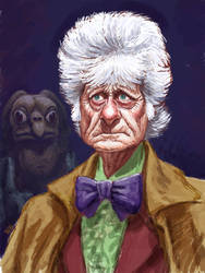 Jon Pertwee as Dr. Who by Spauldron