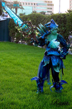 Sylvari Oaken armor cosplay (GUILD WARS 2)