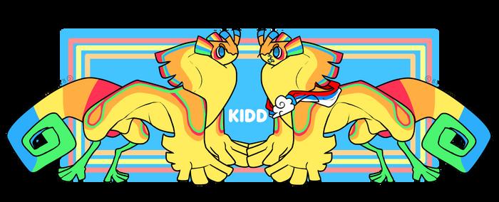 [Mascot] Kidd by Y0LK0