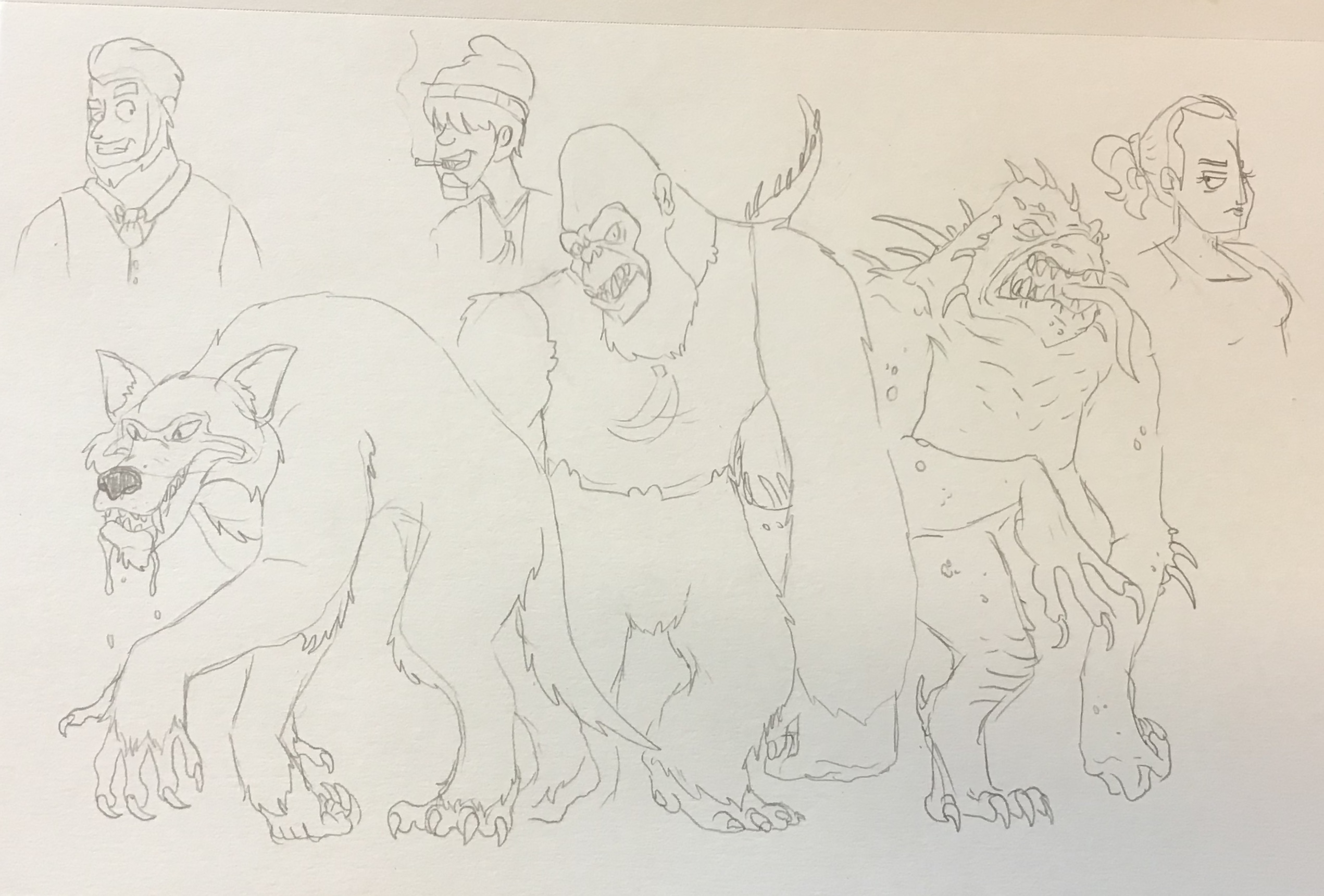 Rampage George Lizzie And Ralph By Artmakerproductions On