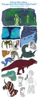 Random Sketches - (#98): Disney TV Show Idea (#5) by ArtMakerProductions