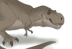 Rexy (or Roberta) On The Hunt