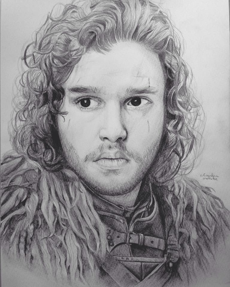 Jon Snow by DutchCow