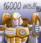 16000 hits