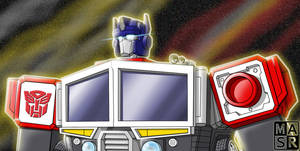 Energon Optimus Prime by rattrap587