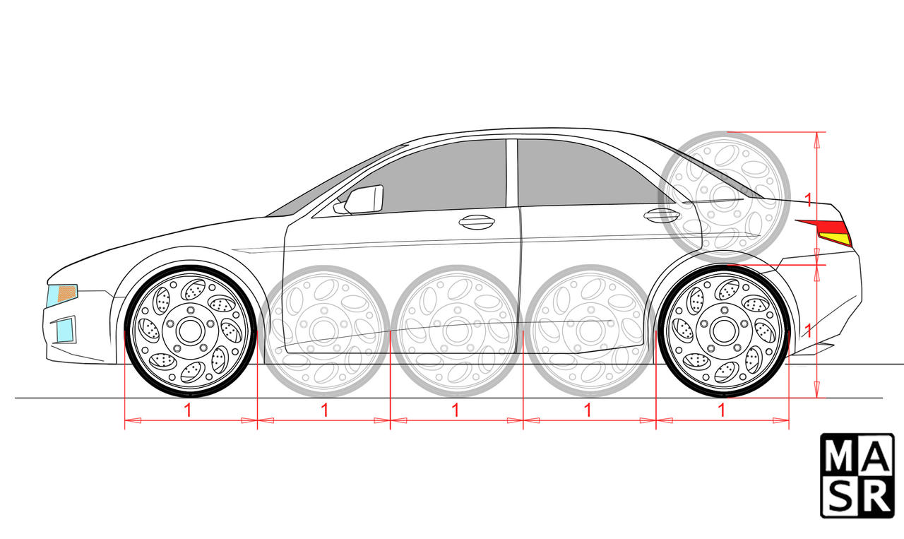Car proportions by rattrap587 on DeviantArt