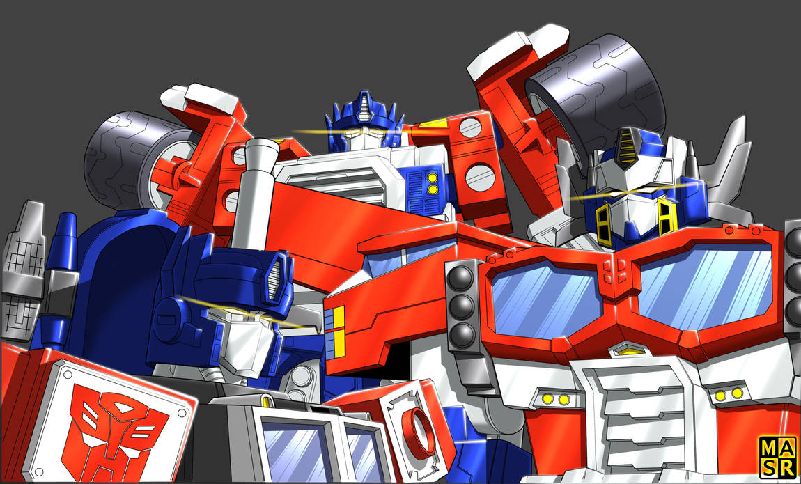 Unicron Trilogy Primes by rattrap587