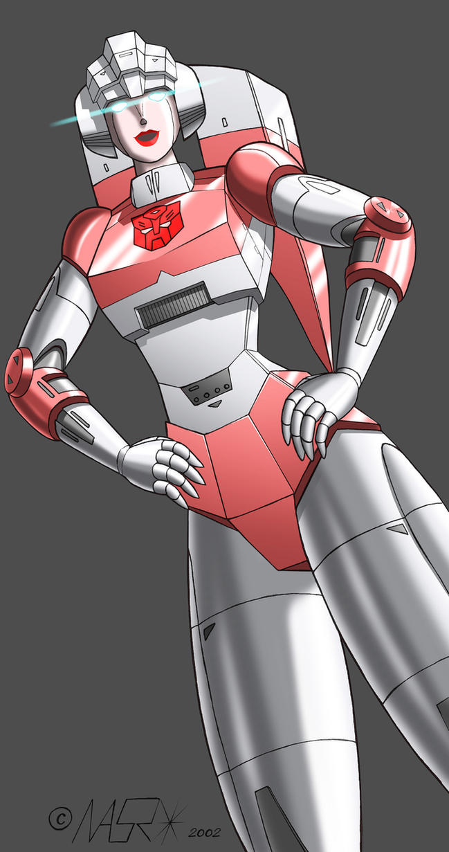 Old G1 Arcee by rattrap587