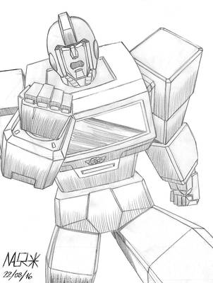 Ironhide Sketch 2016 by rattrap587