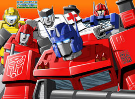 G1 Autobot Group Shot by rattrap587