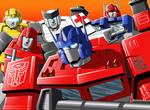 G1 Autobot Group Shot