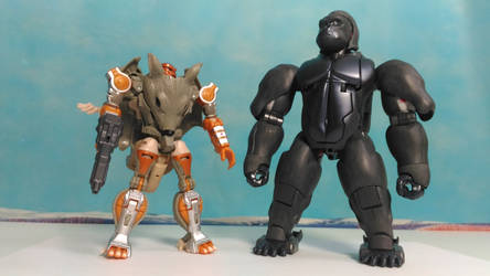 Primal and Rattrap 19 - 1 by rattrap587