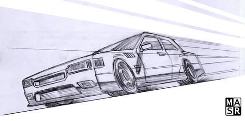 Running Car