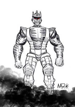 BW Dinobot Sketch