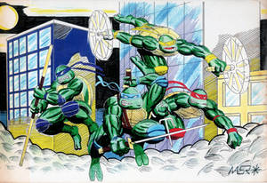Teenage Mutant Ninja Turtles - Old Fanart