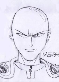 Saitama Sketch First Attempt