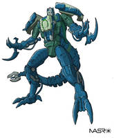 Beast Machines Rapticon 2 by rattrap587