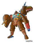 Beast Machines Triceradon 2