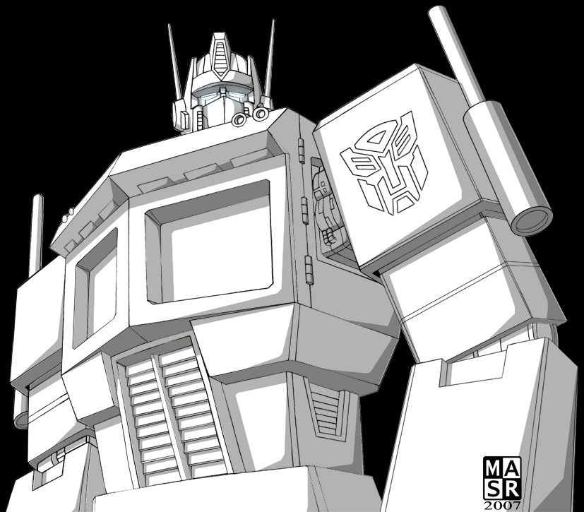 Optimus Prime by rattrap587