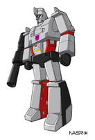 G1 Megatron by rattrap587