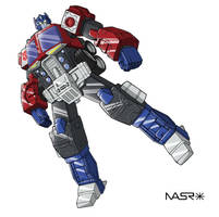 Energon Optimus Prime 2 by rattrap587