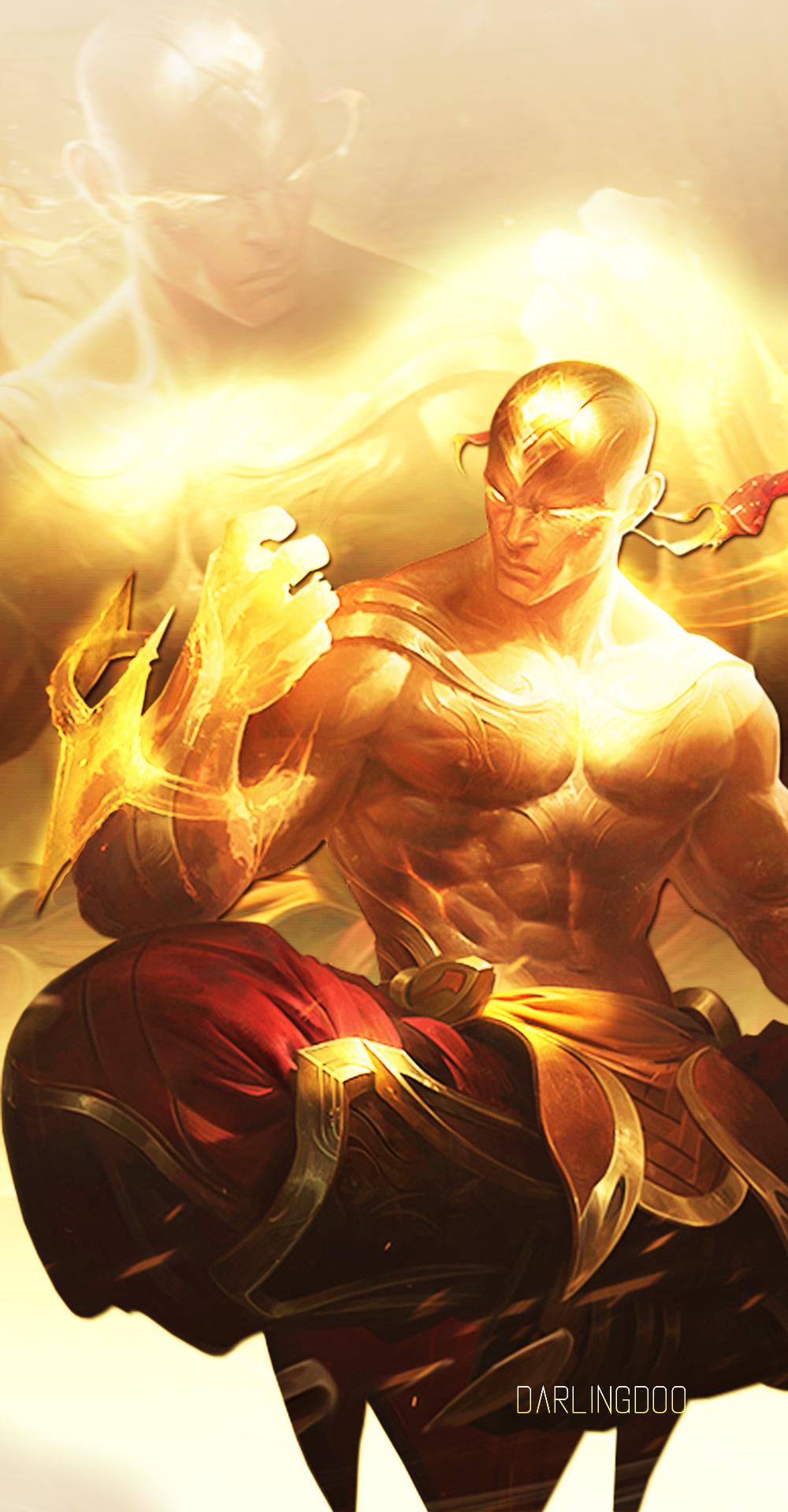 God Fist Lee Sin League Of Legends Lockscreen By Darlingdoo On