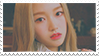 LOONA GoWon stamp by xgeziiezx