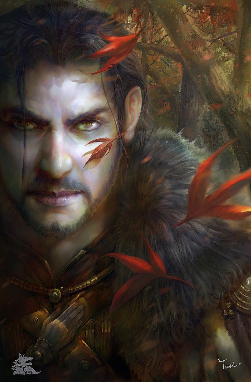 Eddard Stark by TeiIku