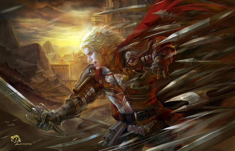 Jaime Lannister by TeiIku