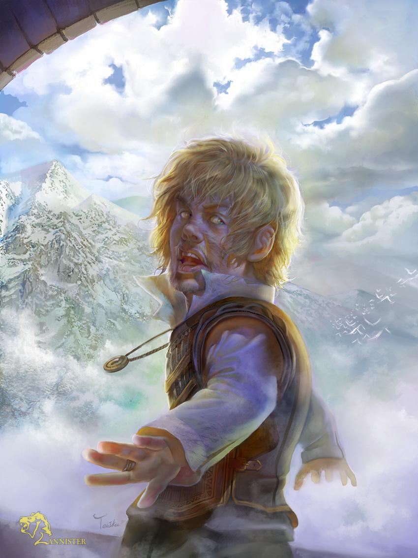 Tyrion Lannister by TeiIku on DeviantArt