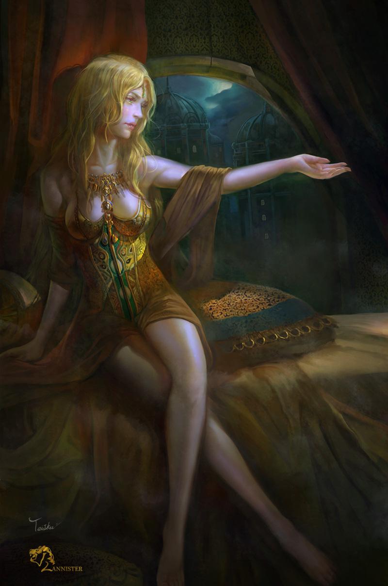 Cersei Lannister by TeiIku
