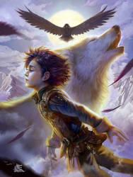 Bran Stark by TeiIku