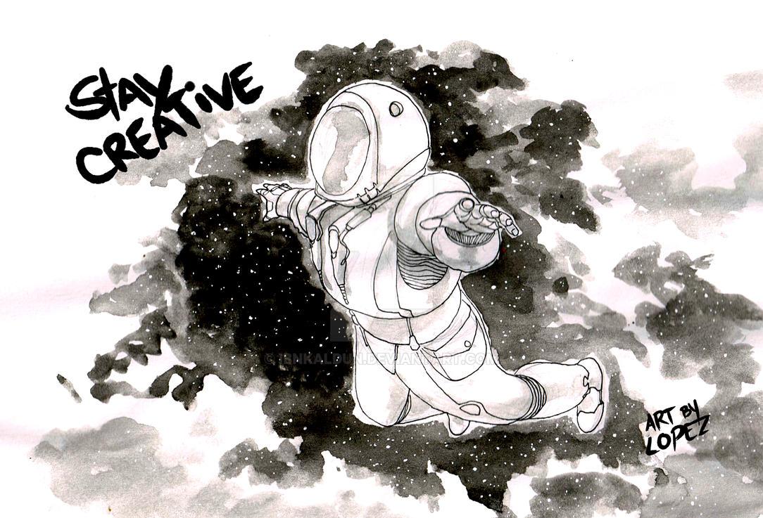Astronaut.postcard by IbnKaldun