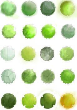 Landscape Trees - Plan