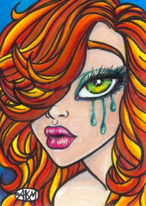 Chibi Dawn Sketch Card ACEO by alyssakay